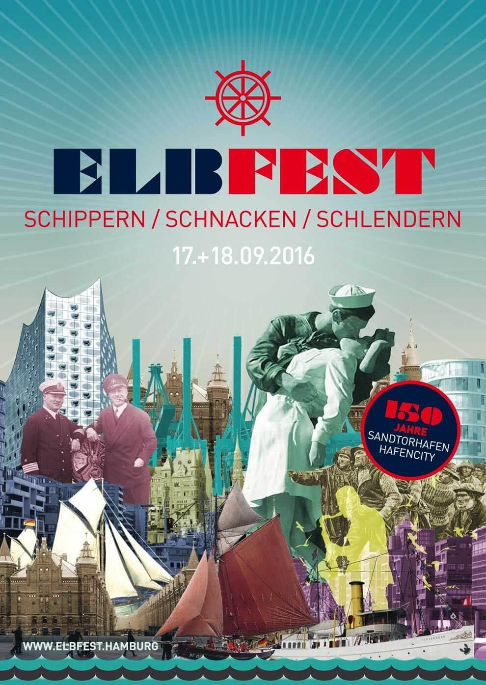 Elbfest.Hamburg – Schippern. Schnacken. Schlendern.