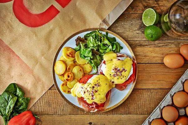Eggs Meat Beats in der Oberhafenkantine