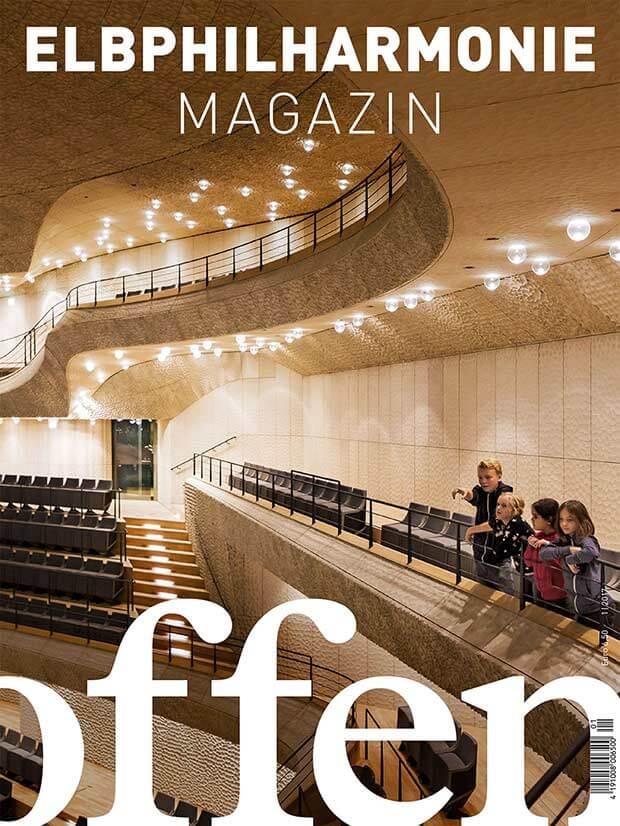 Das auch noch! Ab sofort im Handel: Das Elbphilharmonie Magazin