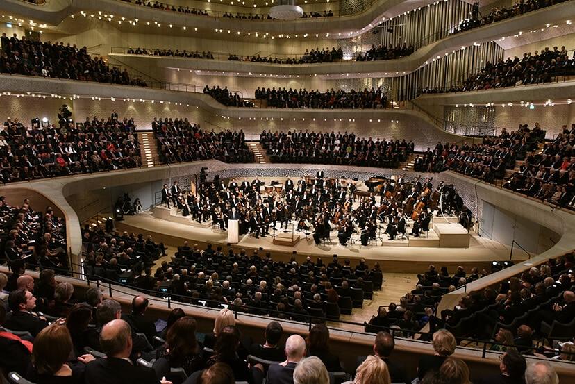 Videos der sensationelle Eröffnung der Elbphilharmonie
