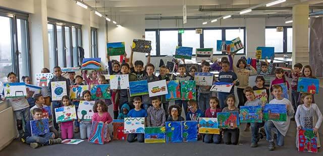 """Migration: Ausstellungseröffnung """"Kinder malen ihre Heimat"""" im Auswanderermuseum BallinStadt"""
