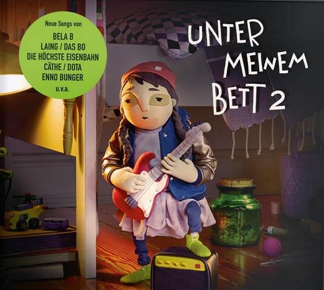Unter meinem Bett 2 die neue CD – Kinderkonzert in der Fabrik