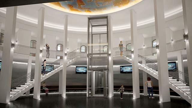 Neues Foyer Planetarium Hamburg