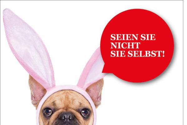 Fahnenfleck: Kleiner Hund mit Ohren