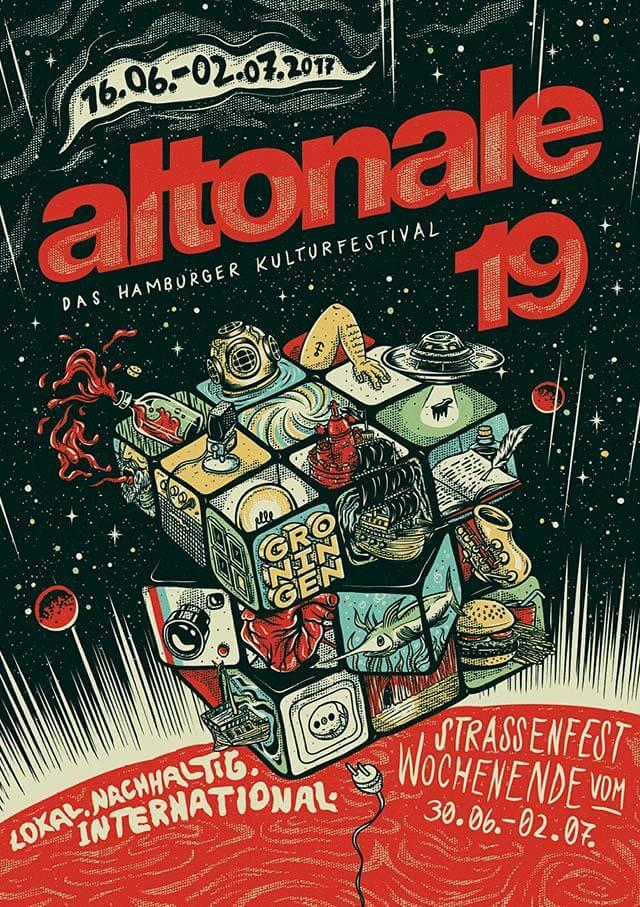 Gewinner altonale Plakatwettbewerb 2017: Sebastian Mättig