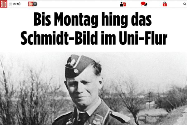 Bundeswehr-Skandal: Screenshot des Helmut-Schmidt-Bild von BILD.de