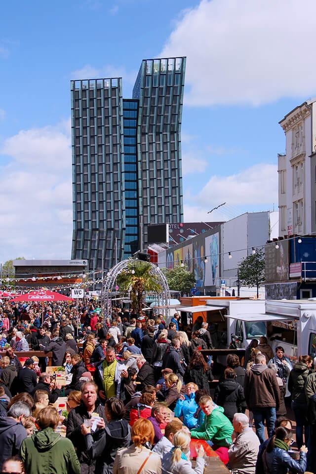 Food Truck Festival auf dem Spielbudenplatz