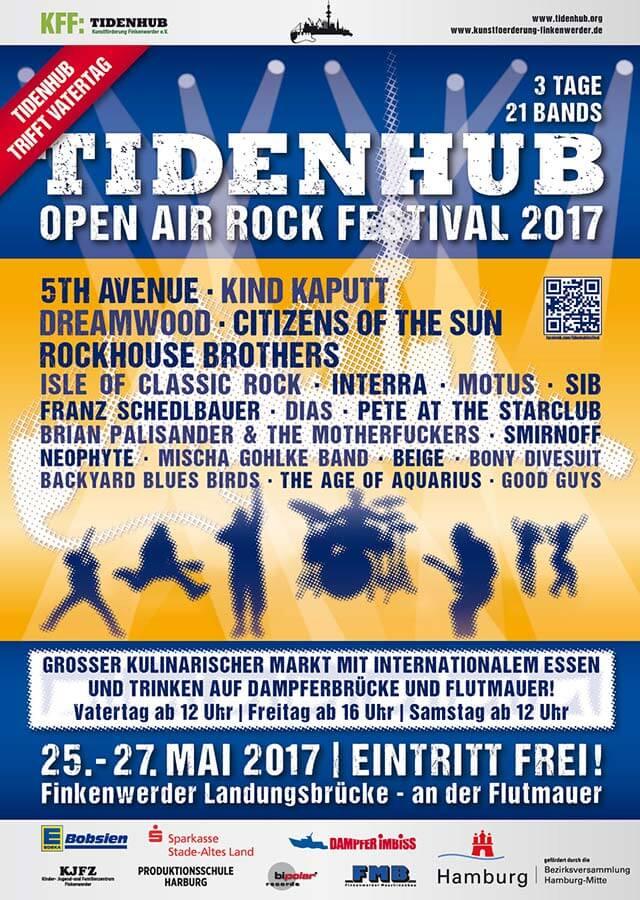 Tidenhub Open Air Festival auf Finkenwerder – umsonst und draußen