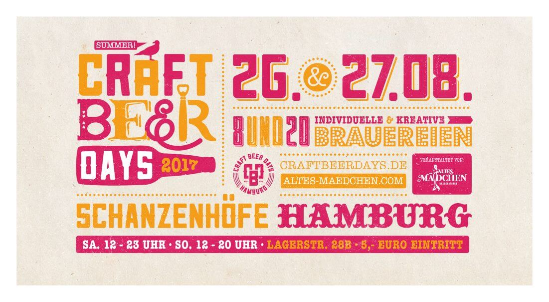 Craft Beer Days Flyer