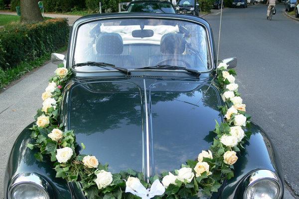 Hochzeitsauto und Heiraten in Hamburg