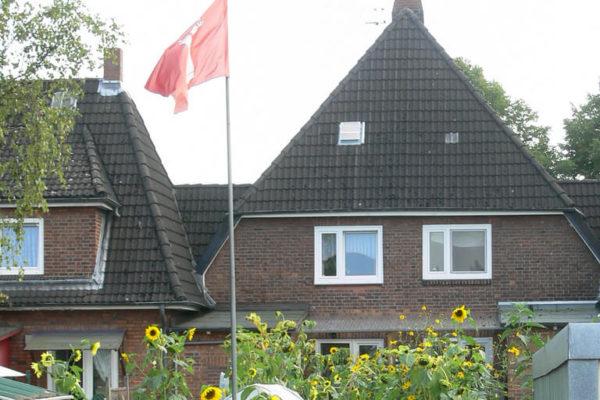 Deichpartie Finkenwerder Hamburg