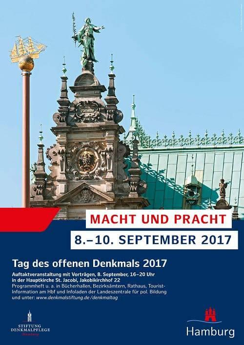 Macht und Pracht am Denkmaltag – Tag des offenen Denkmals in Hamburg