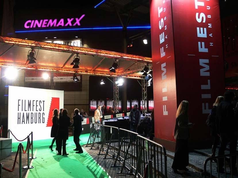Ein Hauch Glamour in der Stadt beim 25. Filmfest Hamburg