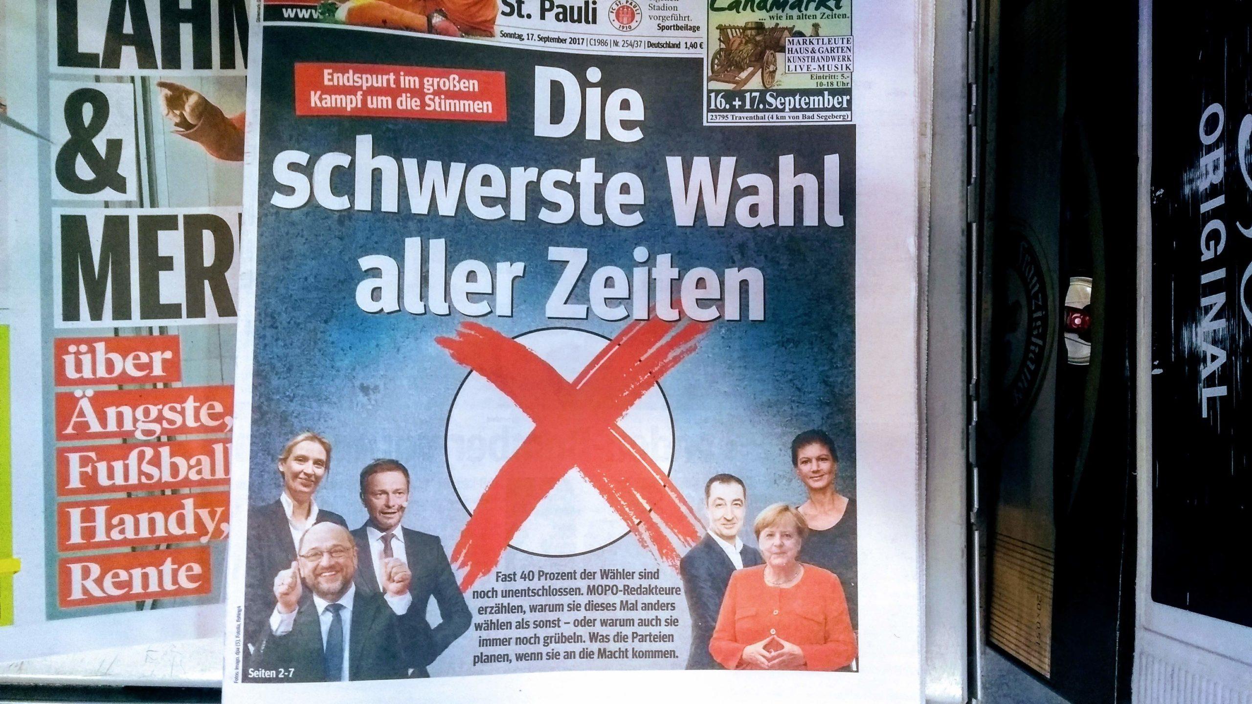 Nichtwähler, Erstwähler, Letztwähler, Rechtswähler, Linkswähler – wen wählen zur Bundestagswahl