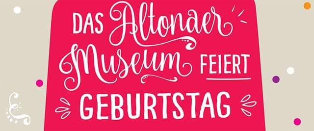 Altonaer Museum feiert den 154. Geburtstag am Wochenende in Hamburg