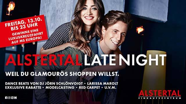 Late Night Shopping Party Plakat