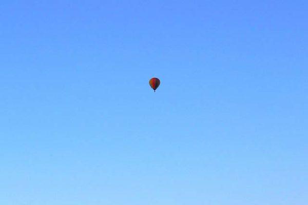 Ausflugtipps: Mit dem Ballon