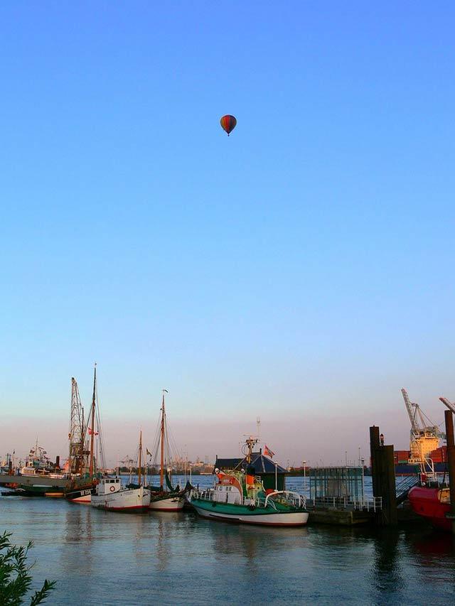Im Ballon über Hamburg und die Metropolregion