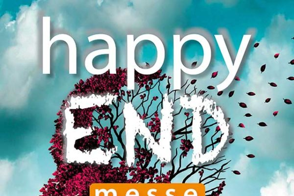 Happy End - Bestattungsmesse Plakat