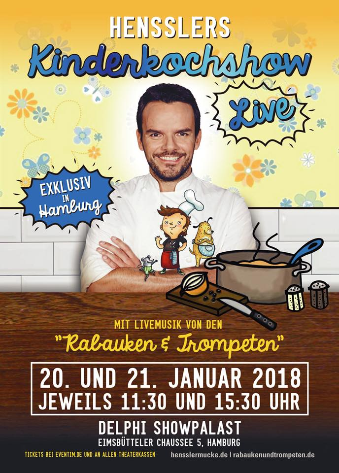 Hensslers Kinderkochshow in Hamburg