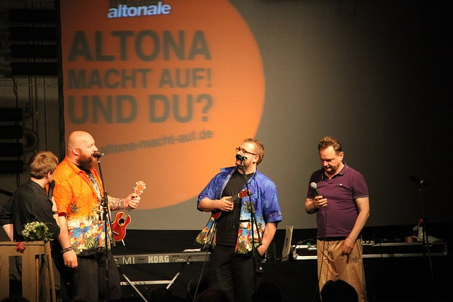 Altona macht auf! Nachbarschafts-Show-Fest am 22. Mai 2018 im Thalia in der Gaußstraße