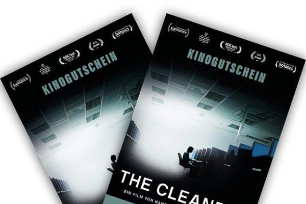 Kinogutscheine für THE CLEANERS