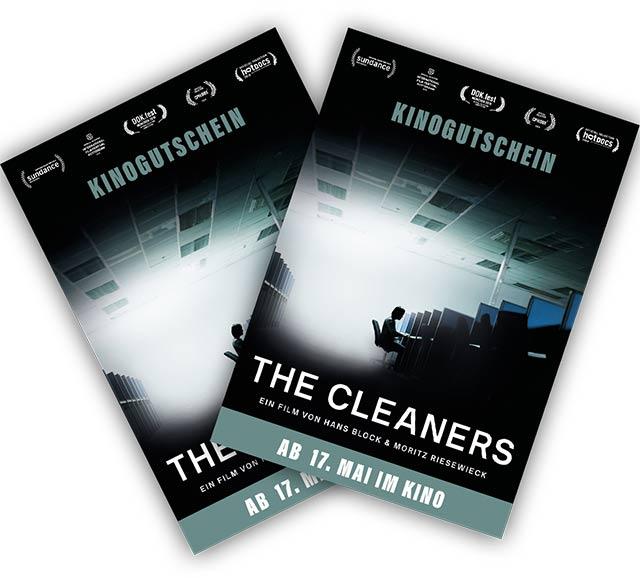Kinostart von THE CLEANERS – Gewinne 2×2 Kinogutscheine für die Kinodoku