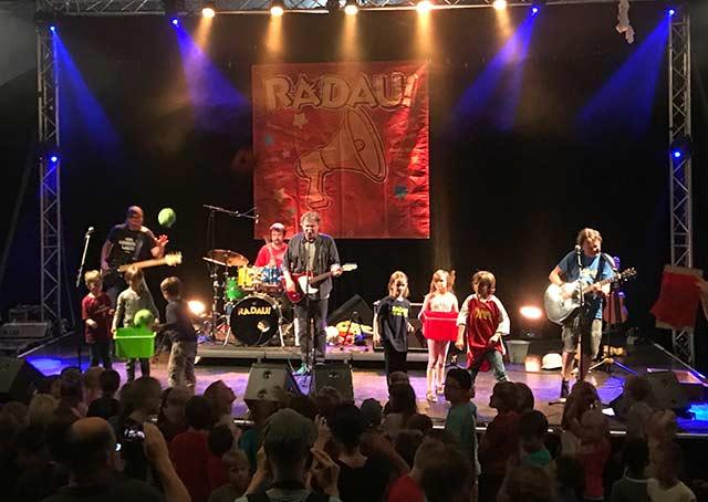 20 Jahre RADAU! Live-Konzert für Kinder und Eltern
