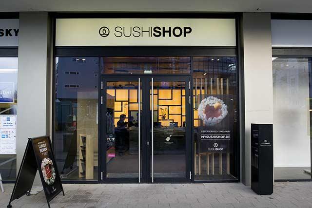 Außergewöhnliche Sushi-Kreationen ins Büro oder nach Hause