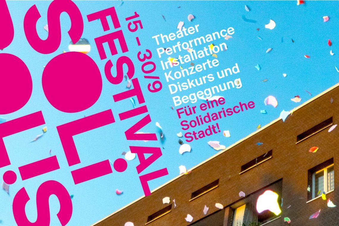 SoliPolis Festival NEW Hamburg Plakat