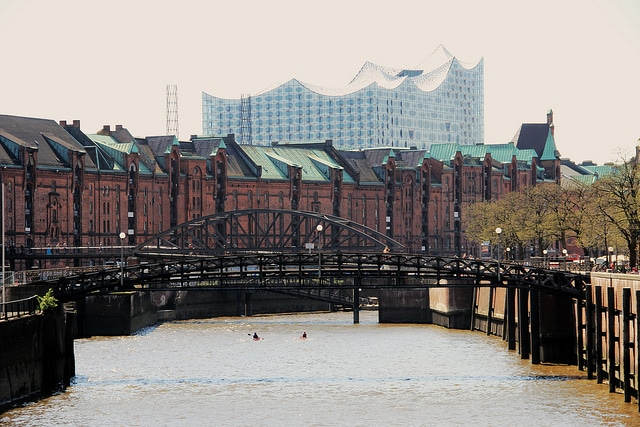 Regentage in Hamburg