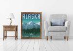 Wald-Poster als Alternative zum Sommerurlaub im Beton-Dschungel