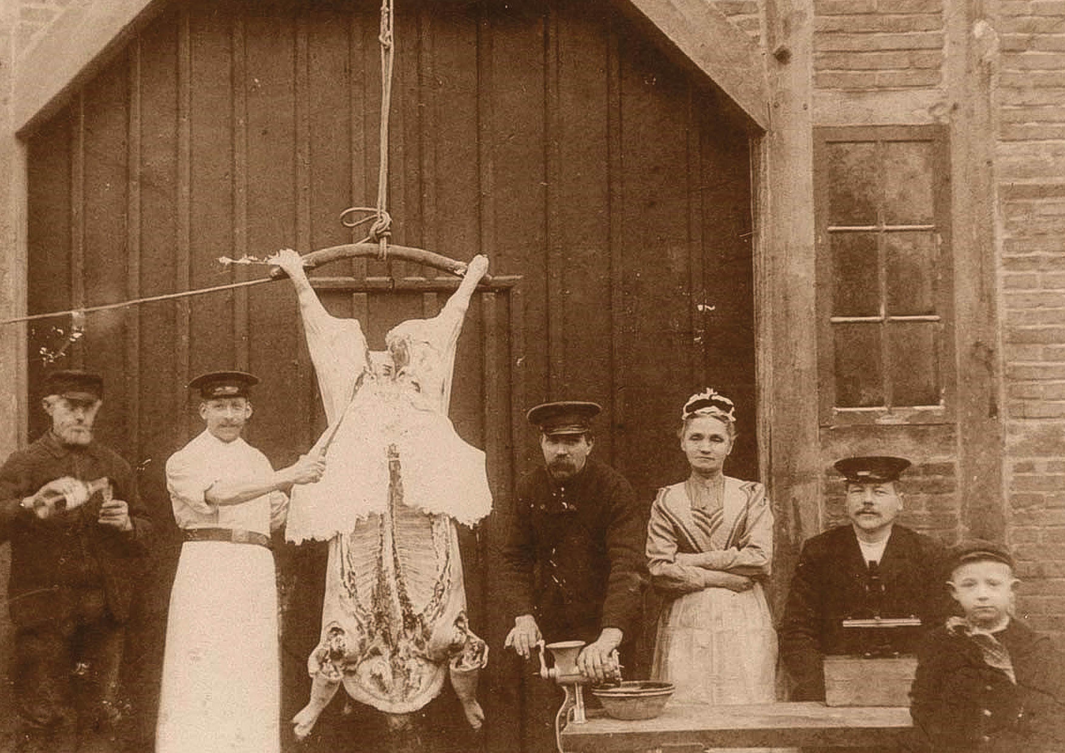 Freilichtmuseum Kiekeberg: Traditionelles Schlachtfest wie vor 100 Jahren