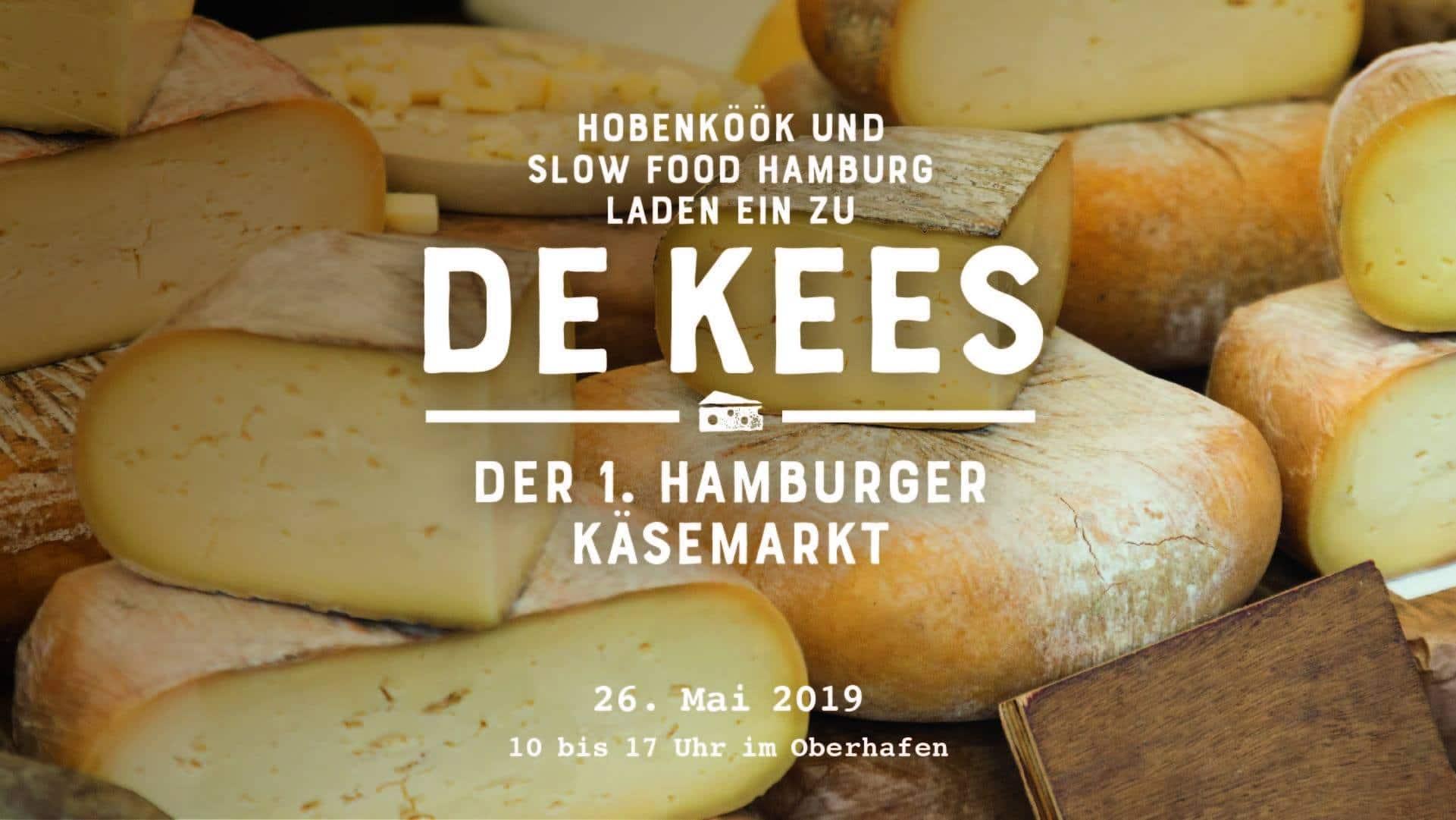 1. Hamburger Käsemarkt in und an der Hobenköök im Oberhafen