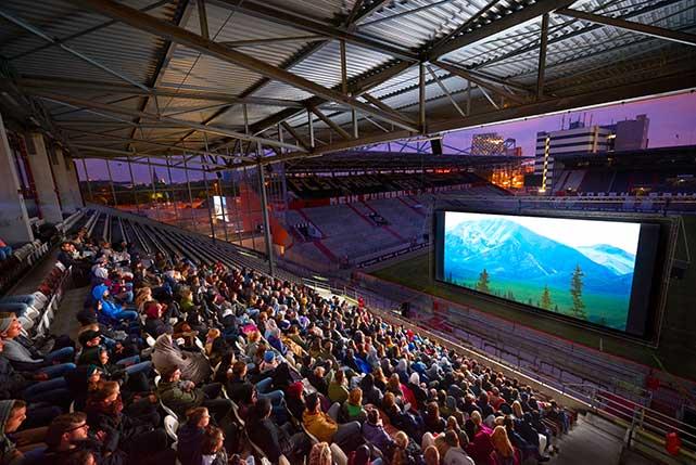 Sommerkino im Millerntor-Stadion