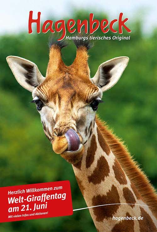 Welt-Giraffentag in Hagenbeck
