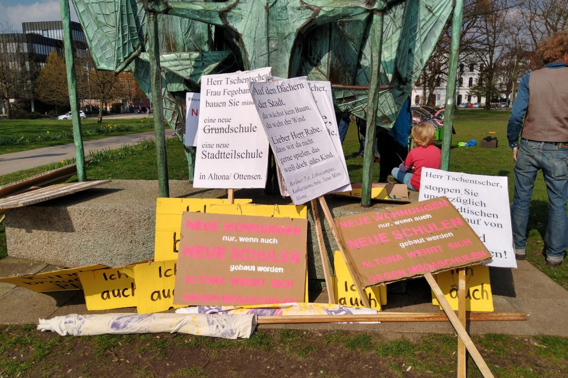 Schulentwicklungsplan (SEPL): das muss nicht anders gehen! Kritik an dem Aufruf zur Demo ALTONA: Das muss anders gehen