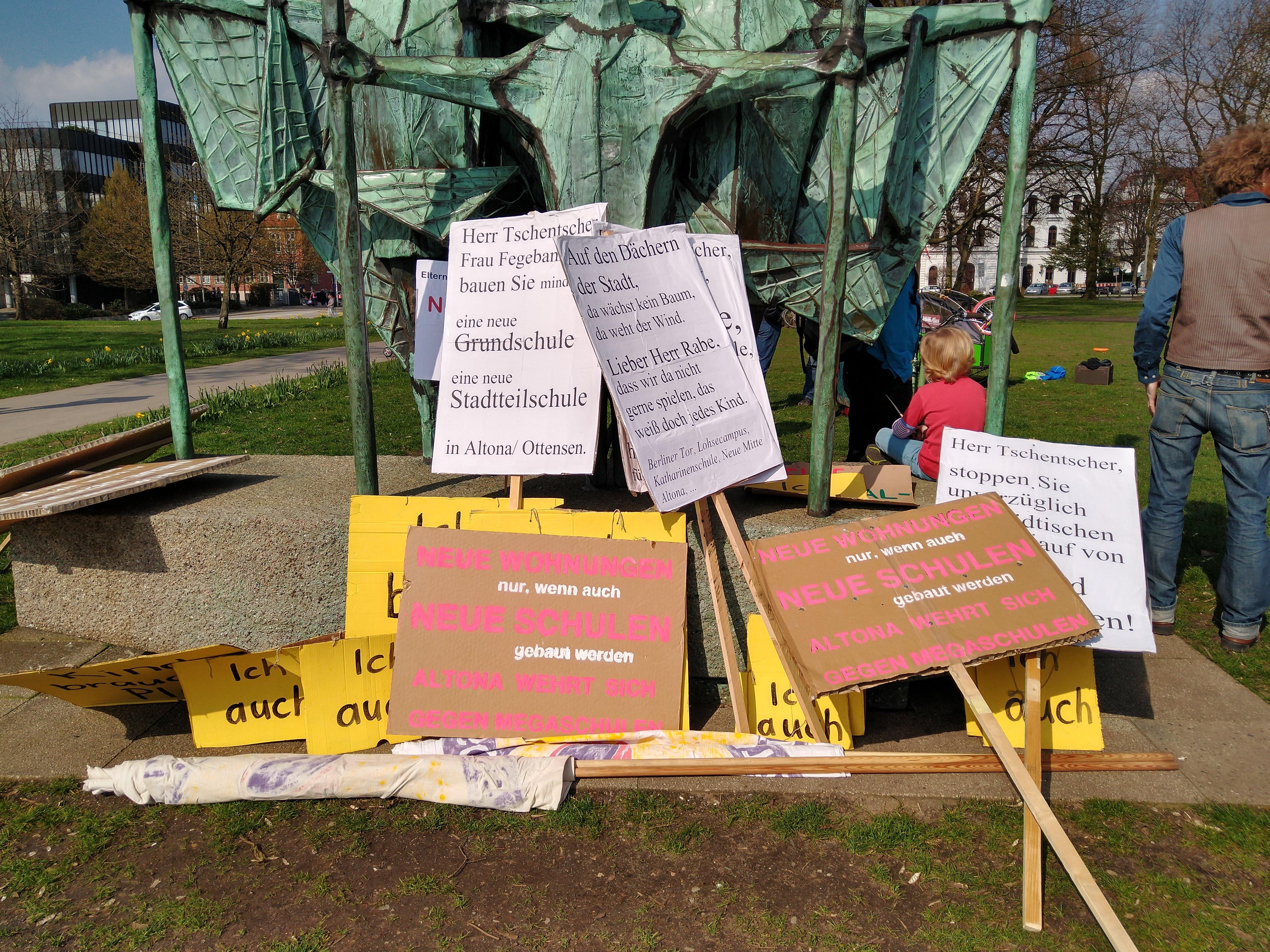 Demo gegen die Schulbehörde: Das muss anders gehen! Gegenaufruf zur Altonaer Schuldemo