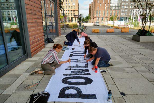 Klimastreik Friday´s for Future Aktivisten
