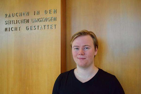 Bosse Vogt beim Bundeswettbewerb Gesang