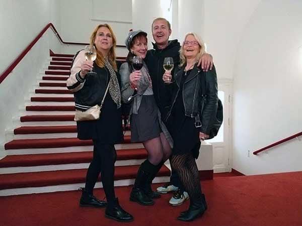 Theaternacht-Freunde im Thalia