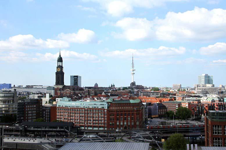 Jahresrückblick: Hamburg von der Elbphilharmonie aus