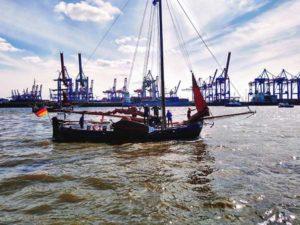 Segler beim Hafengeburtstag