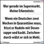 Quarantäne-Auswirkungen in Deutschland