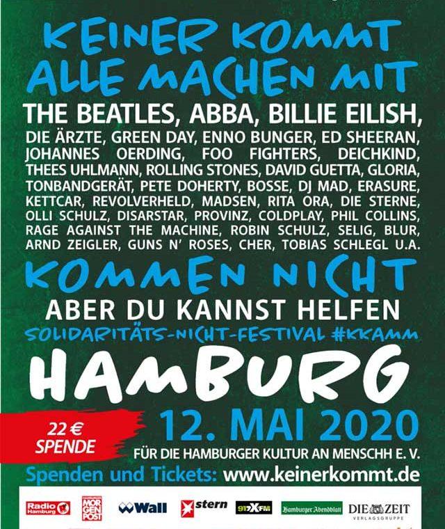 Keiner kommt, alle machen mit Festival-Poster