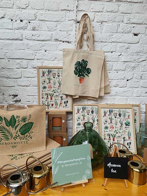 Pop Up Dschungel Tour des französischen Blumen- & Pflanzen-Ateliers Bergamotte