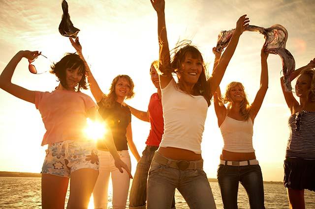 Glücksfeeling auf dem 6. Lebensfreude FESTIVAL am Strand von Travemünde