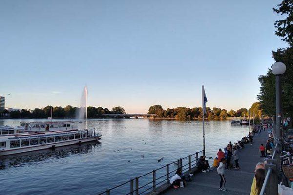 Hamburg im Sommer
