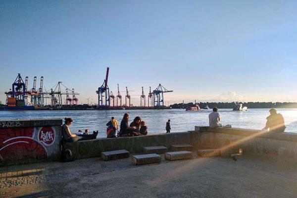 Städtetrip in Hamburg an der Elbe