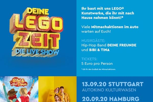 Deine LEGO Zeit - im Autokino Bahrenfeld